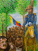 Don Quijote en Venezuela, by Rafael Gallardo